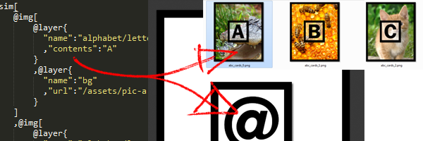 Create Smart Images From JSON SIM Files