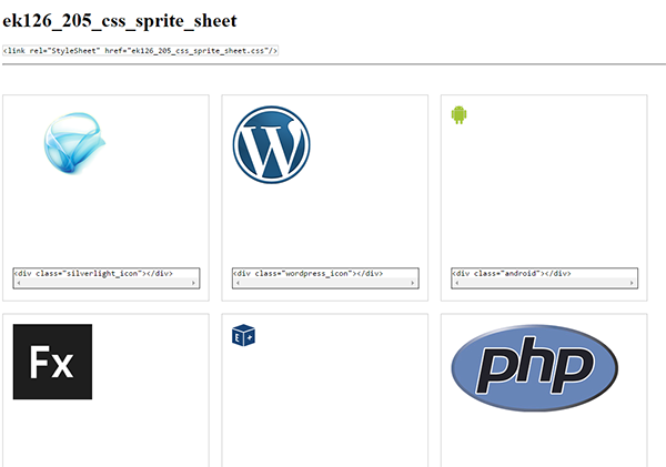 Create PSD to CSS, JSON and XML Sprite Sheets   Export Kit