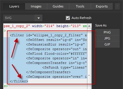 Create SVG Filters for Illustrator | Export Kit