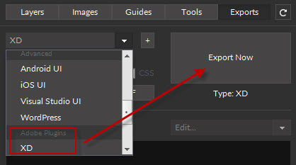 Create your first Adobe XD CC Plugin | Export Kit